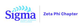Sigma, Zeta Phi Chapter logo